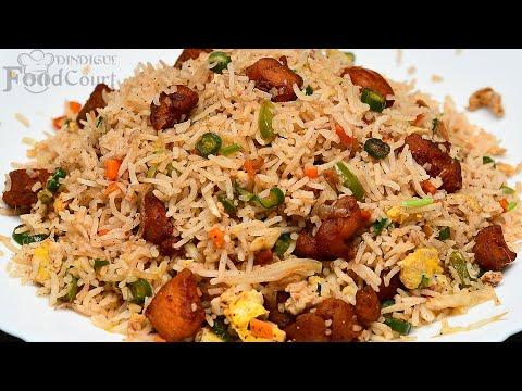 Chicken Fried Rice/ Chicken Rice/ Street Food Chicken Fried Rice