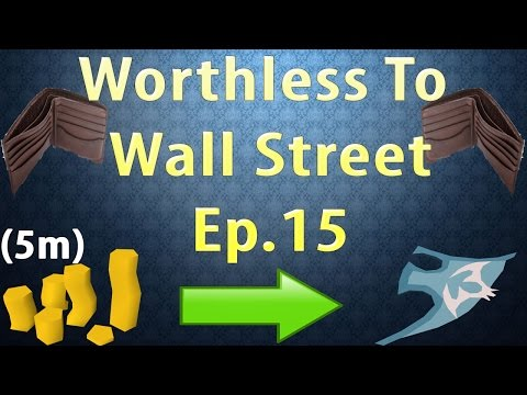 Worthless to Wall Street Ep 15!! MY SECRET ITEM [OSRS Merching] [5M Start]