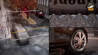 видео ADAC: Тест зимних шин размера 195/65 R15 (2017)
