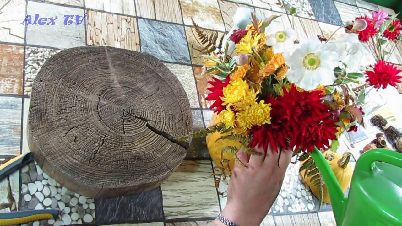herbst dekoration herbstgesteck mit naturmaterialien deko ideen mit k rbis selber basteln. Black Bedroom Furniture Sets. Home Design Ideas