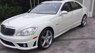 2009 Mercedes Benz S63 AMG Review and Test Drive by Bill - Auto Europa Naples