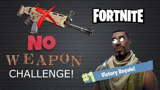 Winning without Firing a Single Shot | Fortnite No Weapons Challenge