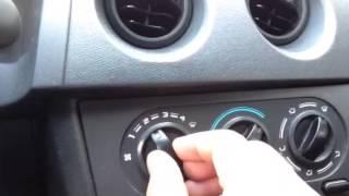 Como ligar o ar do carro
