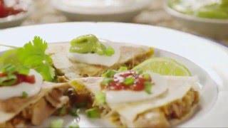 Use Leftover Chicken: Bbq Chicken Quesadillas!