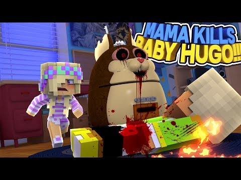Minecraft TATTLETAIL-ANGRY MAMA'S REVENGE: BABY HUGO IS GONE FOREVER!!! Baby Leah Adventures!