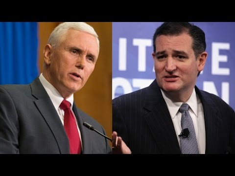 Indiana Gov. Mike Pence Endorses Ted Cruz Ahead Of State