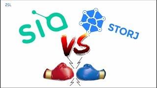Siacoin vs Storj