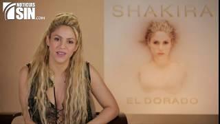 Shakira habla de su nuevo álbum El Dorado