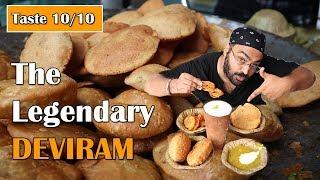 Eat BREAKFAST in 12 rupees at Deviram