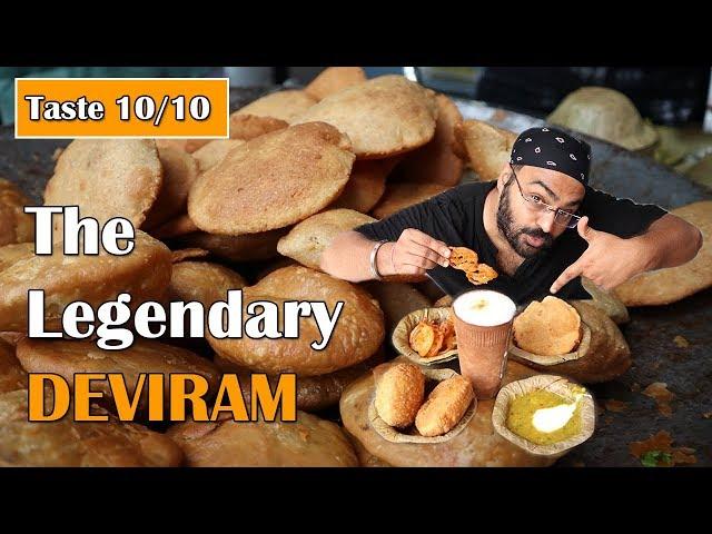 Eat BREAKFAST in 12 rupees at Deviram | Agra Food