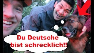 THIS DOG SPEAKS GERMAN BETTER THAN ME!