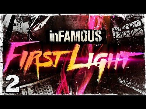 Смотреть прохождение игры [PS4] Infamous: First Light. #2: Верхом на грузовике.