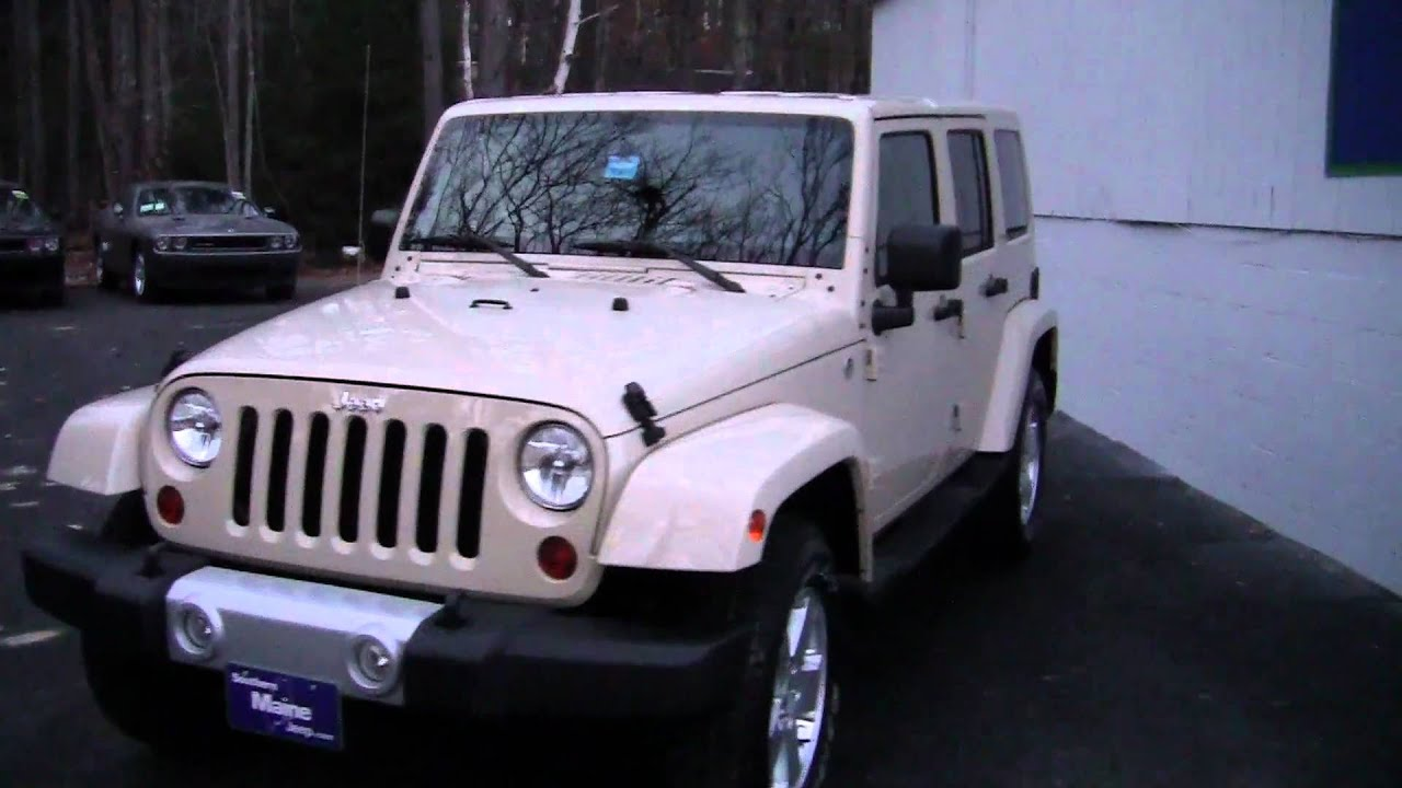 Best maine jeep dealerships 2011 jeep wrangler sahara for Southern maine motors saco maine