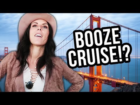 Our San Francisco Yacht BOOZE Cruise! (Lunchy Break)