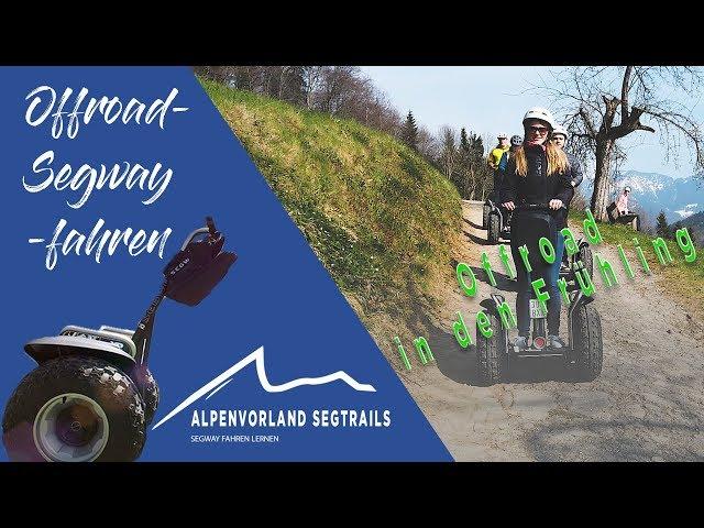Segway Touren in den Bergen - Offroad in den Frühling