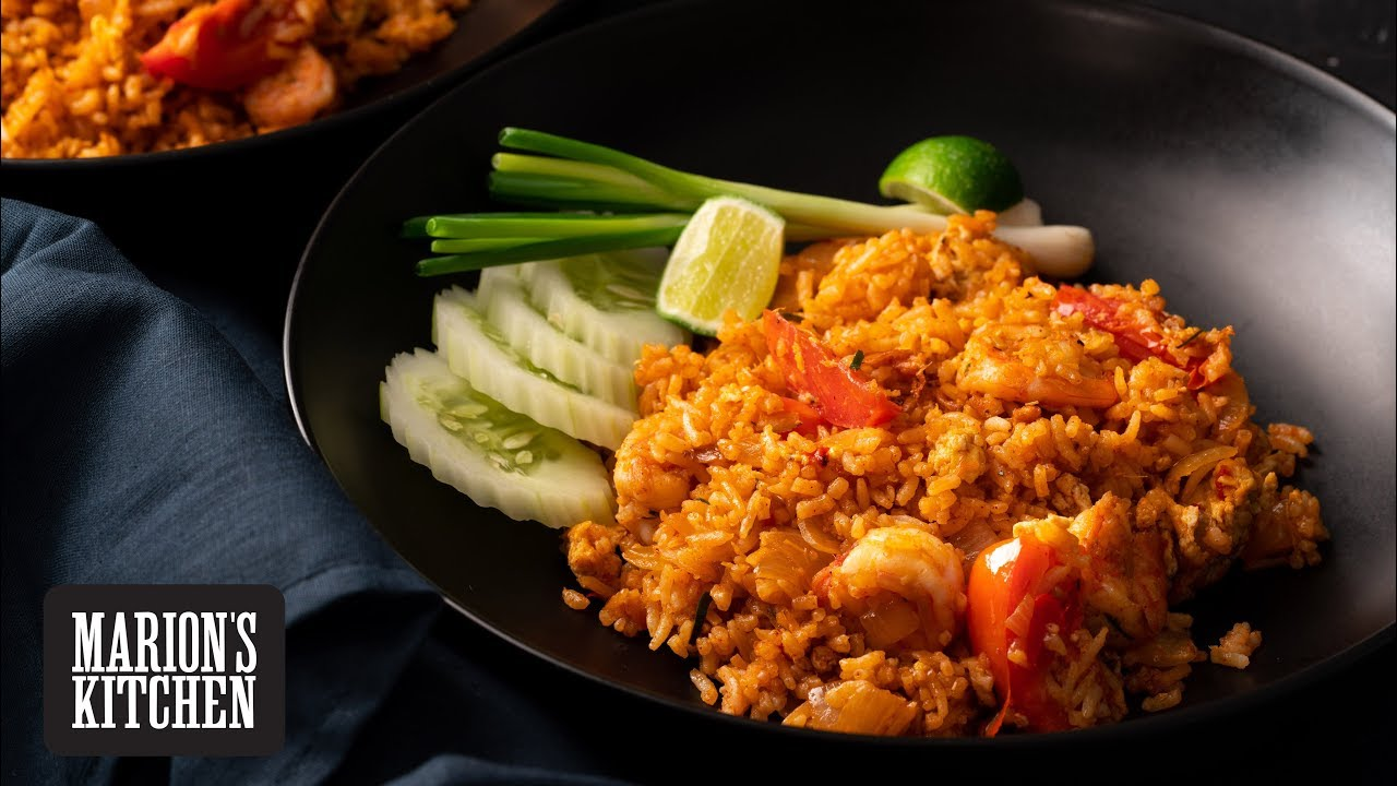 Tom Yum Fried Rice - Marion's Kitchen