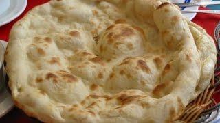 গ্যসের চুলায় নান রুটি// How to make naan roti
