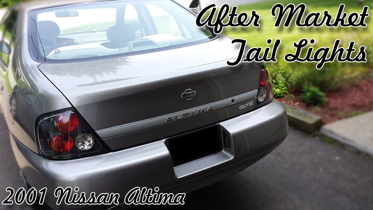 2001 Nissan Altima After Market Tail Lights