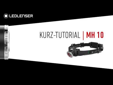 Ledlenser headlamp MH10 - english