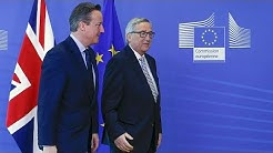 Spannung vor dem Gipfeltreffen: Bleibt Großbritannien in der EU?