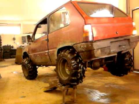 Fiat panda 4x4 1 9d offroad 14 youtube for Panda 4x4 sisley off road