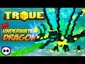 HOW TO GET DEEP SEA DRAGON IN TROVE! ✪ Trove Thallasion, Shaper of the Currents Guide & Tutorial