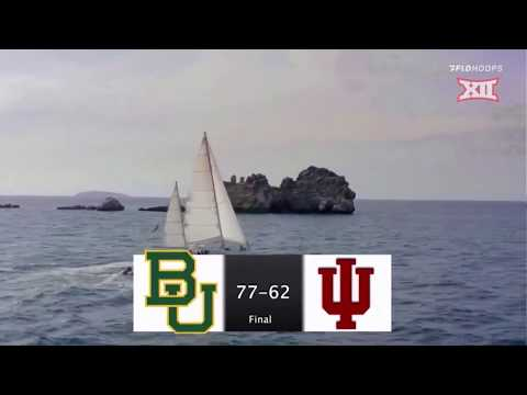 Baylor vs Indiana Women's Basketball Highlights