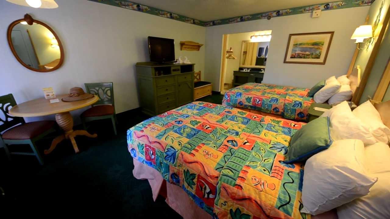 Caribbean Beach Resort Room Tour Disney World Youtube