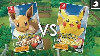 Pokémon: Let's Go Eevee o Let's Go Pikachu - ¿Cual elegir? | Tocby