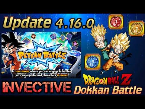 Update 4.16.0 Pettan Battle & Coin Exchange Dokkan Battle (Global)