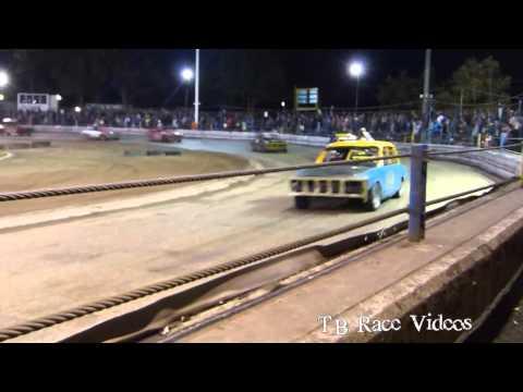 Historic Stock Car Final - Arlington raceway 12/08/15 - TB Race Videos