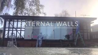 Asbestos Removal of External Walls