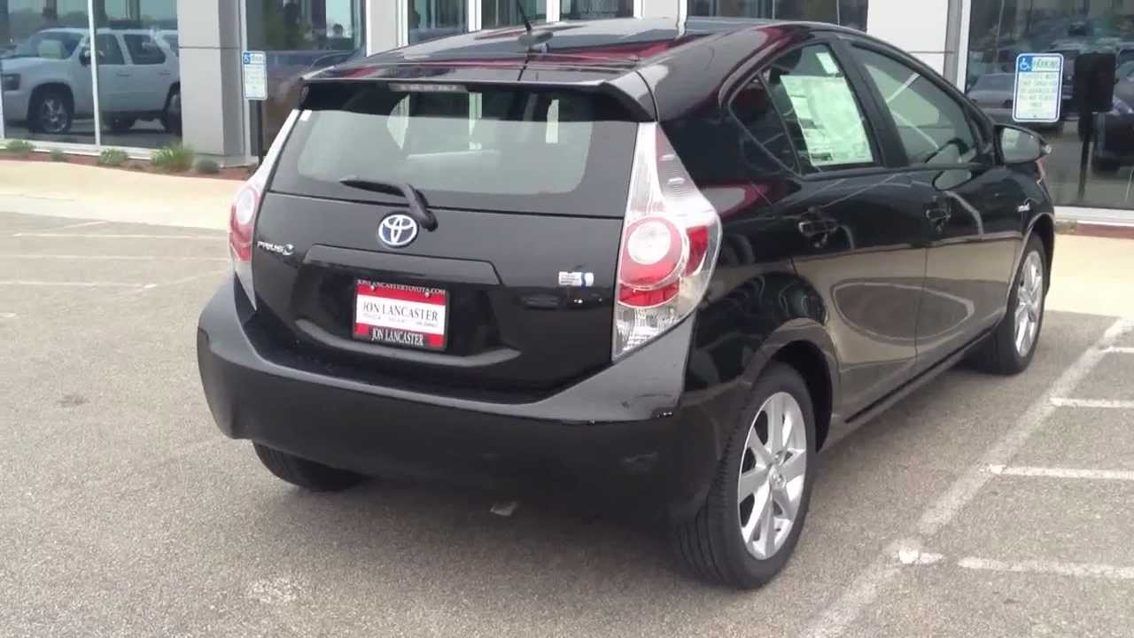 2012 Toyota Prius C Package FOUR Black On Black Review Test Drive