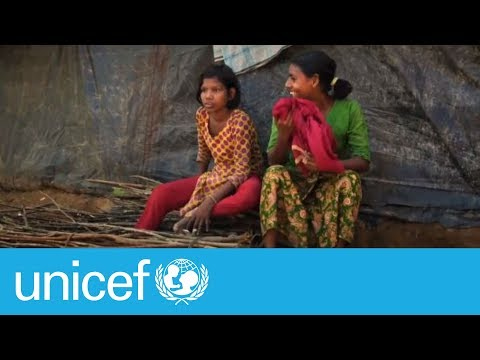 Best friends in the worst of circumstances | UNICEF
