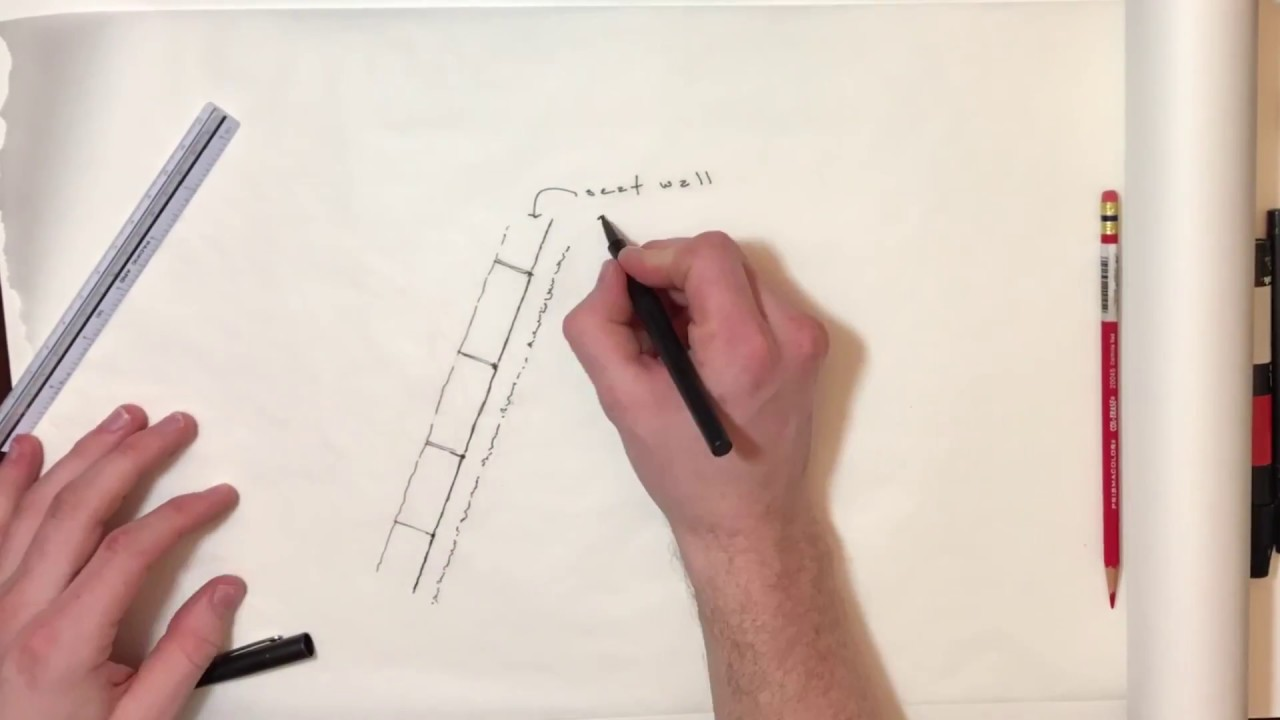 How To Draw A Simple Landscape Plan