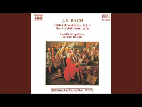 Orchestral Suite No. 4 in D Major, BWV 1069: I. Ouverture