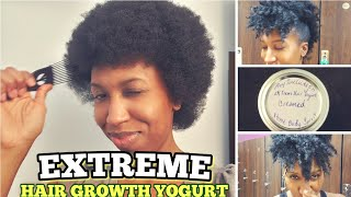 EXTREME HAIR GROWTH YOGURT BY REYSOULUTIONS HOME BODY AND SPIRIT | TUTORIAL AND REVIEW | #HAIRGROWTH