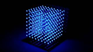 Matrix 8³ LED魔幻立方燈-X'mas影片