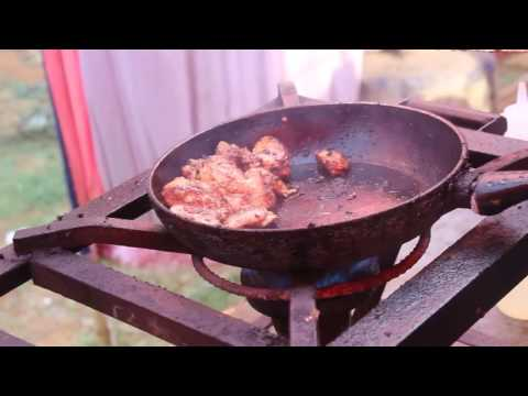 Hickory Smoked Chicken Bao -  Indian street food - Bangalore food fete 2