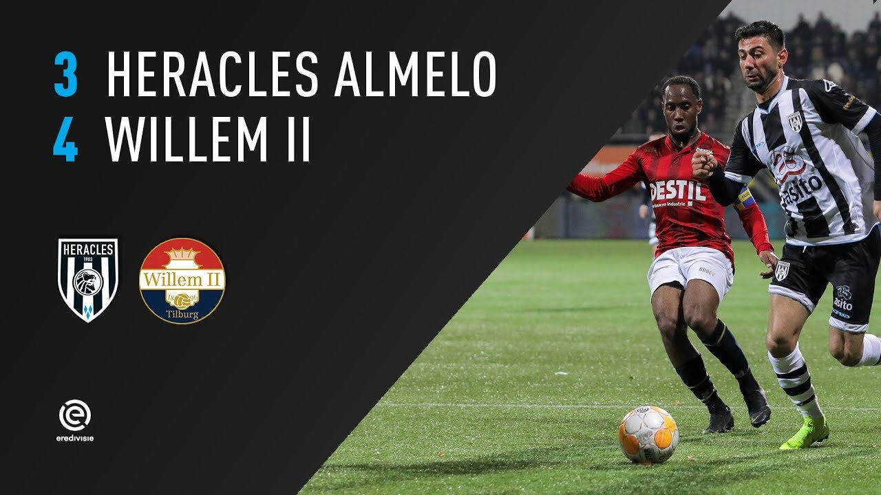 Heracles Almelo - Willem II | 02-04-2019 | Samenvatting