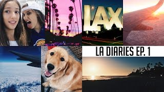 14 HOUR FLIGHT TO LOS ANGELES! | LA Diaries Ep. 1
