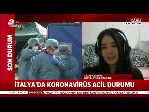 İtalya'daki Türk Anlatıyor! Neler Oluyor! / A Haber
