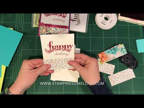 How to make 4 cards in 20 minutes with the stamparatus