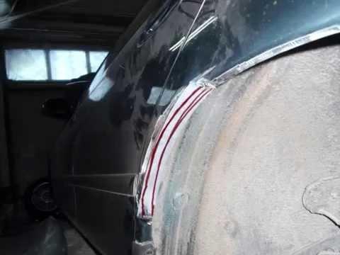 Ремонт арки. Mazda 626.