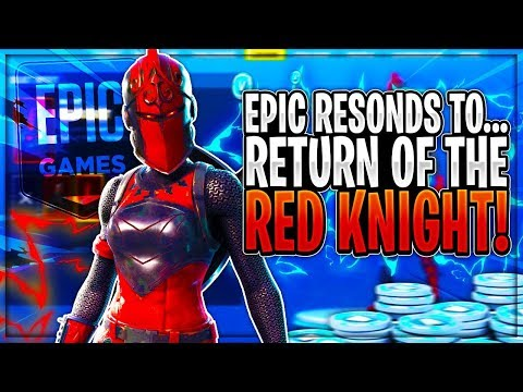 Epic Games Responds To The RED KNIGHT Coming Back To Fortnite! (MUST WATCH!)