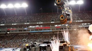 Monster Jam 2016 Highlights