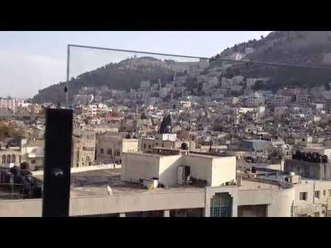 Panoramic view of Nablus City Palestine