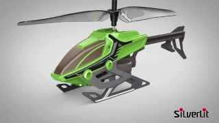Flying Toys Alpha Y 2-Channel Easy Control Helicopter From Silverlit