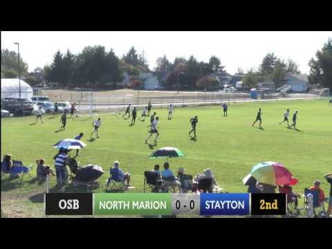 Stayton vs. North Marion Boys Soccer 9/29/15