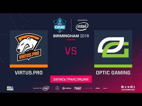 Virtus Pro vs OpTic - ESL One Birmingham 2018 Finals - G3